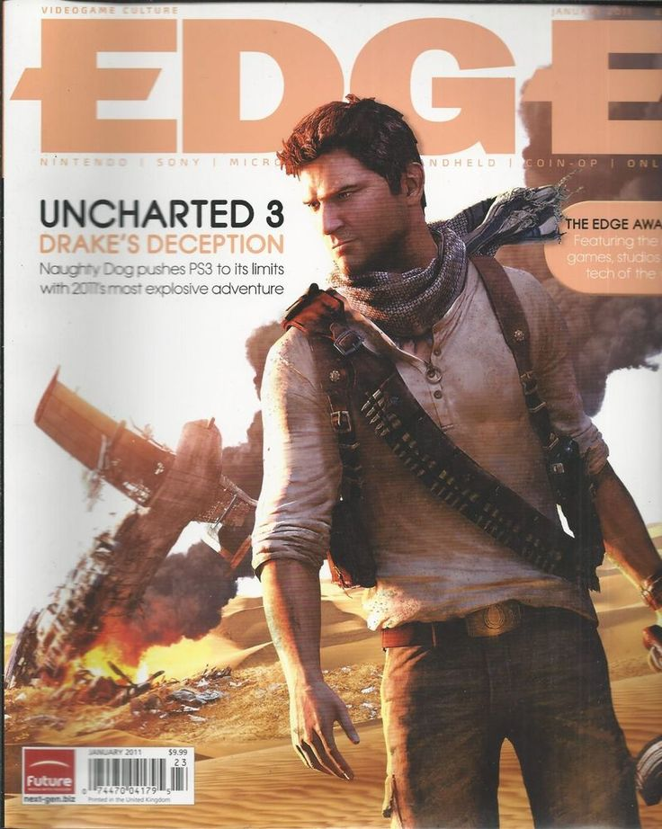 Edge magazine Uncharted 3 PC graphics Indie game developers Awards special issue