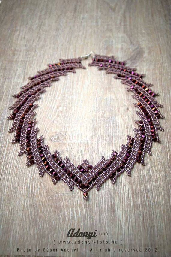 amber stones products necklace weave img