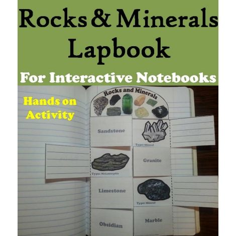 Rocks & Minerals Lapbook