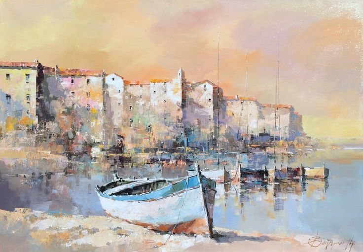 Branko Dimitrijevic, Tranquility, Oil on Canvas, 70x100cm