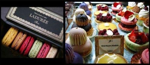 Macarons de Ladurée em Paris!