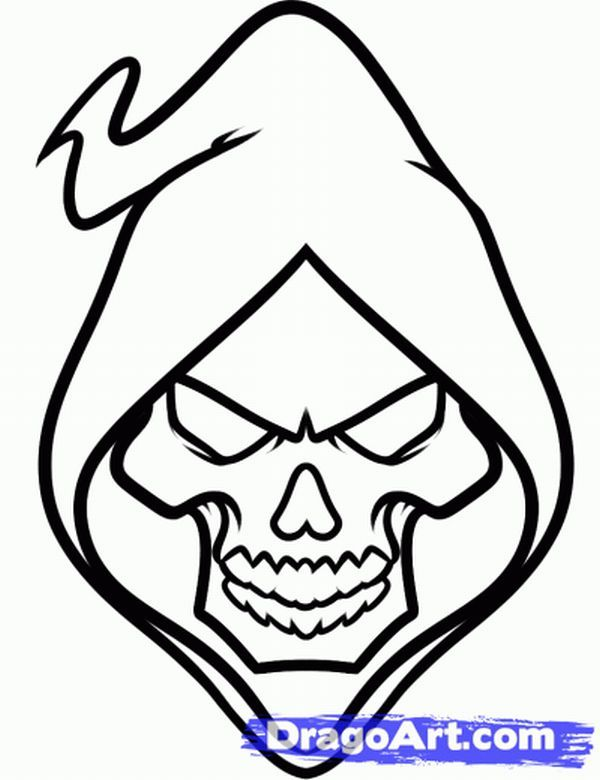 Grafite Caveira Desenho Caveira Como Desenhar Cranios Esboco