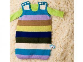 Stricken: Ein Sommerschlafsack fürs Baby
