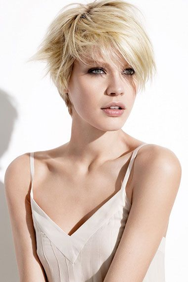 Another cute short hair style