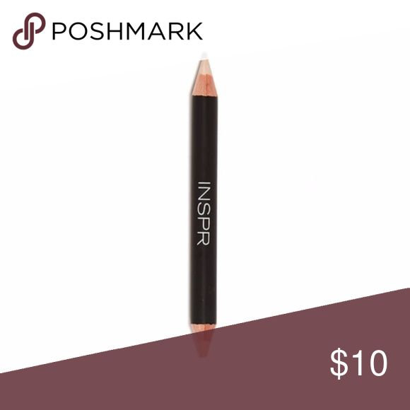 INSPR Dual Brow Highlighter Pencil Brand new factory sealed. Brow makeup is more than just tint and powder! The duo brow highlighter's velvety smooth texture allows for easy application & blending. It's perfect for all skin tones and does double duty: the pink highlight hue will define & highlight the entire eye area as the shimmer end will brighten when applied to the brow bone. Use the best cosmetics to look your best! INSPR Makeup