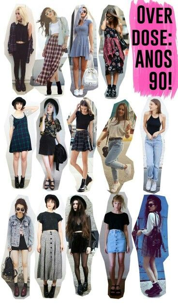 Love all of these! Especially the girl wearing that long red plaid skirt. :)