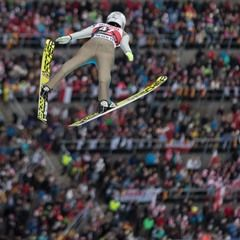 Ski Cross and Ski Jumping at the Winter World Cup in Feldberg, Germany