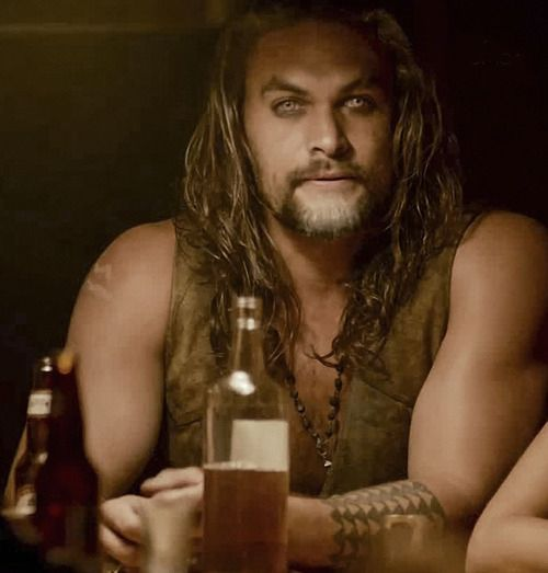 "Jason Momoa as Connor in the movie ""Wolves"" (November 2014)"
