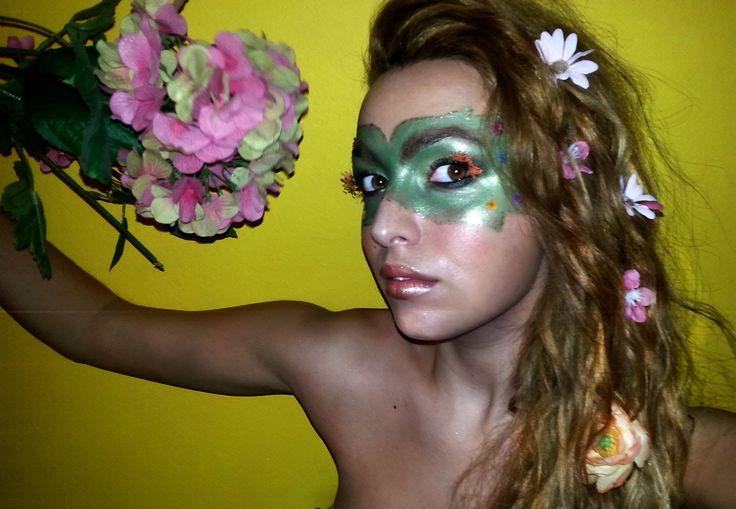 The flower's Princess - Carnevale 2015 #carnevale #makeup #carnevalemakeup #princessmakeup #flower