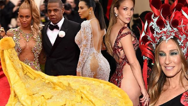 The Met Gala is the Superbowl of fashion  Rihanna, Beyonce, Jay Z, Kim Kardashian, Jennifer Lopez and Sarah Jessica Parker. Pictures: Getty Images.           Melissa Hoyer    news.com.au    @melissahoyer           Share   Share on Facebook    Share on Twitter    Share on Google+    Share on Reddit    Email a friend        Sure, there are couture and ready-to-wear fashion shows in Paris, Milan, New York and London throughout the year. There are the Oscars, the Gol..