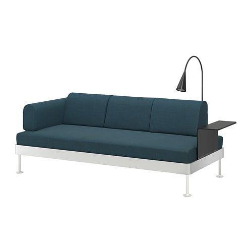 Delaktig 3er Sofa Mit Ablage Und Leuchte Ikea