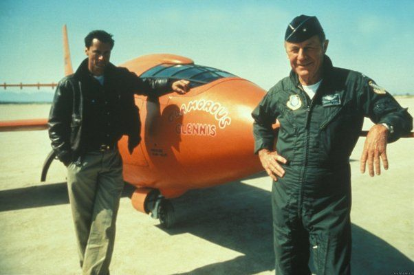 Sam Shepard and Chuck Yeager