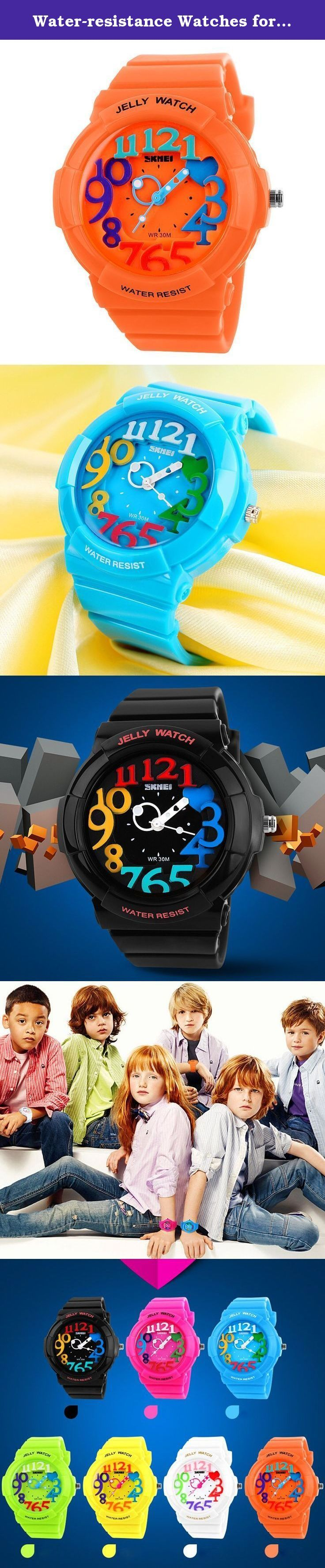 Water-resistance Watches for Children Casual Kids Students Boys Girls Outdoor Sports Watch - Orange. A variety of styles you can choose in our store ! Package Included: 1 x Watch Please Note: 1. Actual color may vary from picture due to computer settings. 2. Find store front of Sunny world, more surprises are waiting for you! Dear Buyer, Thanks for your continuous support to our store, and we are always striving to improve ourselves in terms of service, quality, sourcing, etc. It would be...