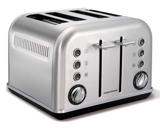 Brushed Accents Toaster http://www.morphyrichards.co.za/products/brushed-stainless-steel-toaster-242026