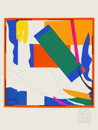 Papiers Decoupes - Souvenir Doceanie Collectable Print by Henri Matisse at Art.com