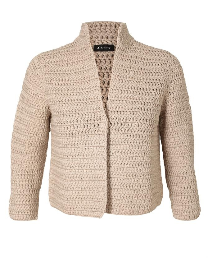 Chunky Hand-knit Cardigan by AKRIS at Browns Fashion for £1,070.00