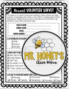 back to school parent survey pdf