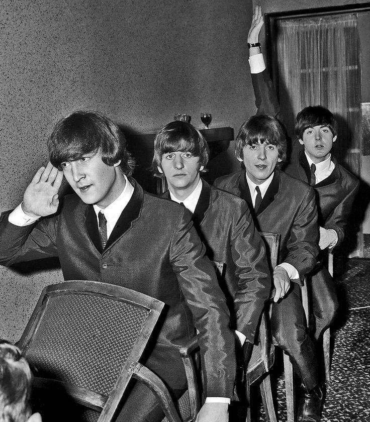 Paul, Ringo, George and Paul