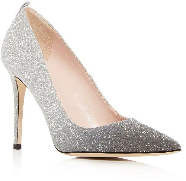SJP by Sarah Jessica Parker Women's Fawn Glitter High Heel Pumps