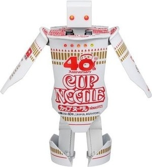Cup Noodle Timer 40th Anniversary