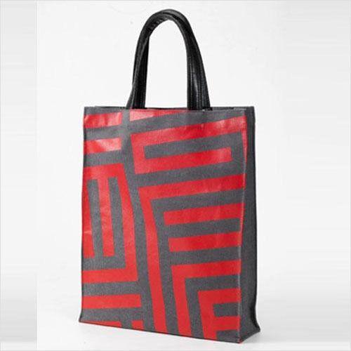 Modern Desing Canvas Woman TOTE BAG Shoulder Bag Grey Grey