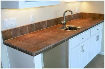 Ceramic Tile Kitchen Countertop - Bing Images