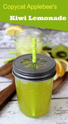 Copycat Applebee's Kiwi Lemonade Recipe - Mom Foodie - Blommi