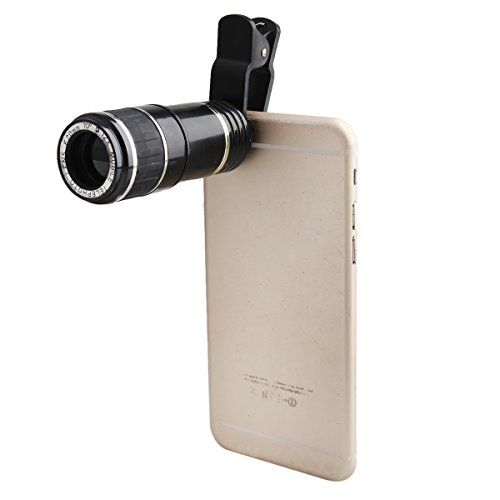 DEALPEAK 12X Phone Camera Lens Kit Manual Focus Telescope Lens for Iphone 6s/6/6 Plus/6s Plus / 5s , Samsung Galaxy S6 / S6 edge/S5, Note 5 /4 ,and More (12X) Review - http://reviewsv.com/carkits/dealpeak-12x-phone-camera-lens-kit-manual-focus-telescope-lens-for-iphone-6s66-plus6s-plus-5s-samsung-galaxy-s6-s6-edges5-note-5-4-and-more-12x-review/