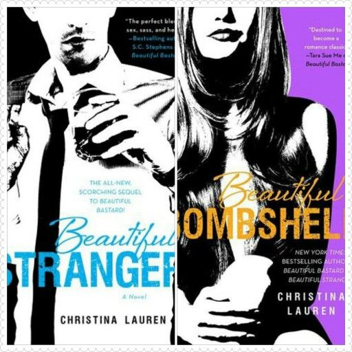 Two books of Christina Lauren's THE BEAUTIFUL SERIES are currently $2.99! That is a steal when they usually run about $5+. Beautiful Stranger (#2) http://amzn.to/1sirYaN Beautiful Bombshell (#2.5) http://amzn.to/1i4uMnO