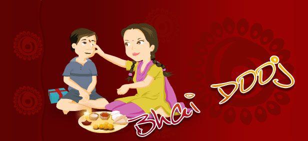Bhai dooj, bhaiya dooj festival celebrations in India. Read more at: http://10travelspots.com/bhai-dooj-bhaiya-dooj-festival-celebrations-in-india/