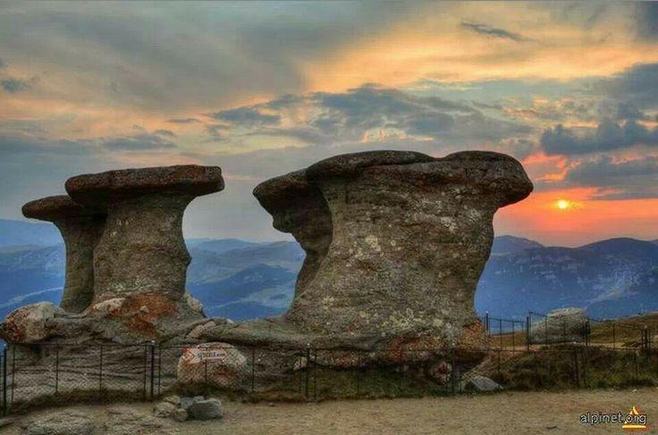 Babele, Bucegi mountains, Romania