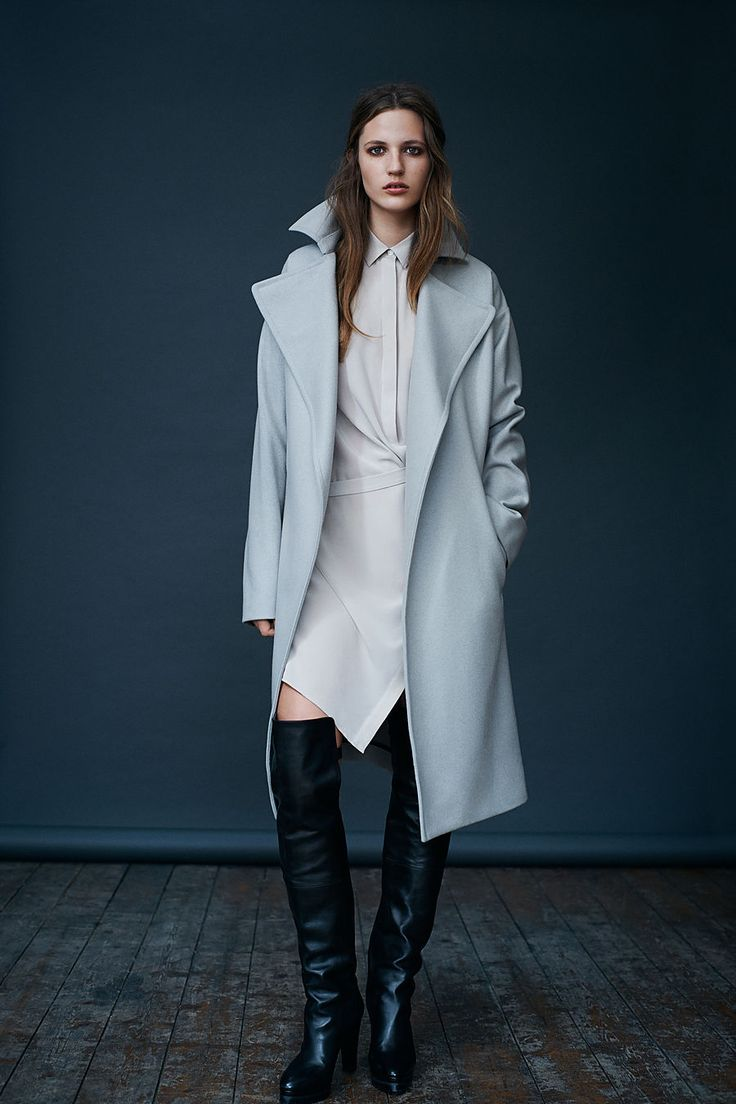 ALLSAINTS: Women's lookbook 2014 September.  LOOK 10.