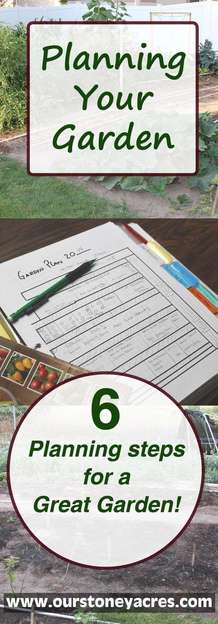 Planning Your Garden – 6 ideas for your best garden yet!