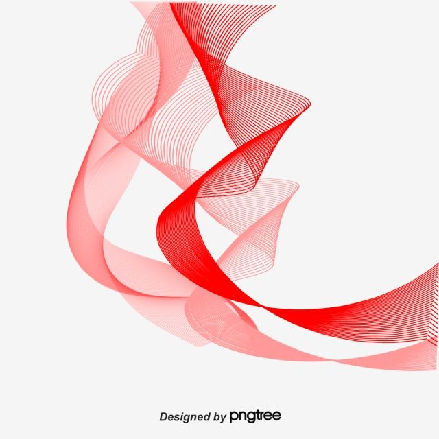 Floating Line Curved Lines Red Fashion Floating Vector Png And Vector With Transparent Background For Free Download Graphic Design Background Templates Monochrome Pattern Design Elements