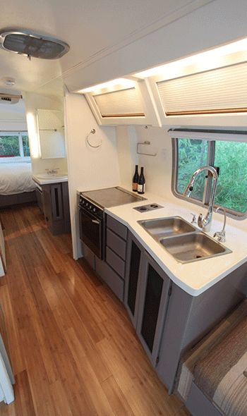 1984 Airstream 310 Motorhome Renovation by Hofmann Architecture For Sale»
