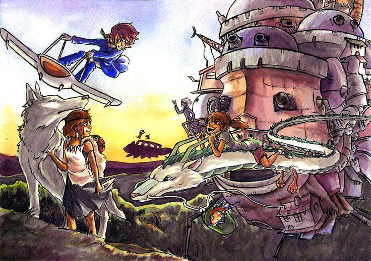 Miyazaki tribute by Takiusa on DeviantArt