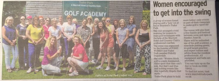 Golf-Her morning at Tudor Park Marriott Golf and Country Club with Kaddy Lee-Preston, LadiesGolf.co.uk, Wilmoths Citroen Maidstone, GolfJuice TV (Source: Kent Messenger, 19 June 2014)