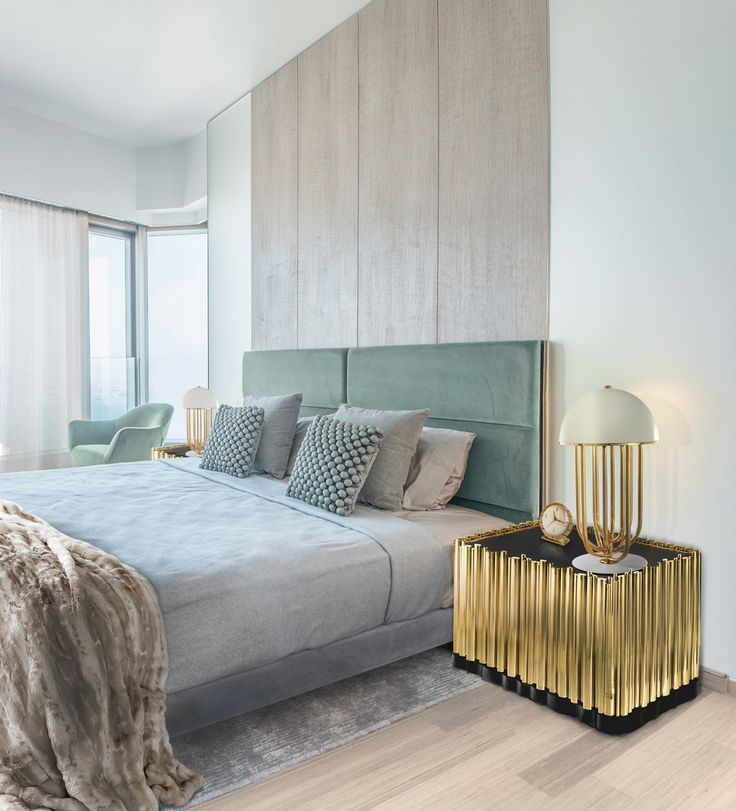 This stunning piece brings the perfect design melody to the bedroom, with its trills and turns, making the bedroom experience into something of genius.   www.bocadolobo.com #bocadolobo #luxuryfurniture #exclusivedesign #interiodesign #designideas #contemporarybedroom #nightstanddesign #symphony