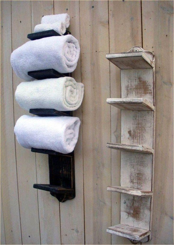 Hervorragender Bad-Aufbewahrungsschrank mit Handtuchhalter, exklusiv für zu Hause