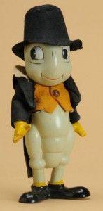 Jiminy Cricket toy by Knickerbocker