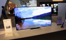 Sharp showed off this 8K model at the Consumer Electronics Show in Las Vegas and also known as Super Hi-Vision, the great screen packs a resolution of 7,680 by 4,320 pixels; which is 16 times more than high-definition TVs.
