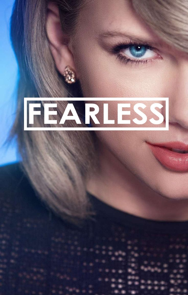 You make me fearless....