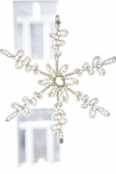 Tema 40: 16 Snøkrystall #jul #strikk #christmas #knit