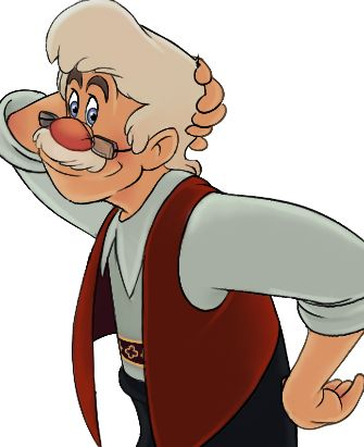 Gepetto in Pinocchio #creator #archetype #brandpersonality