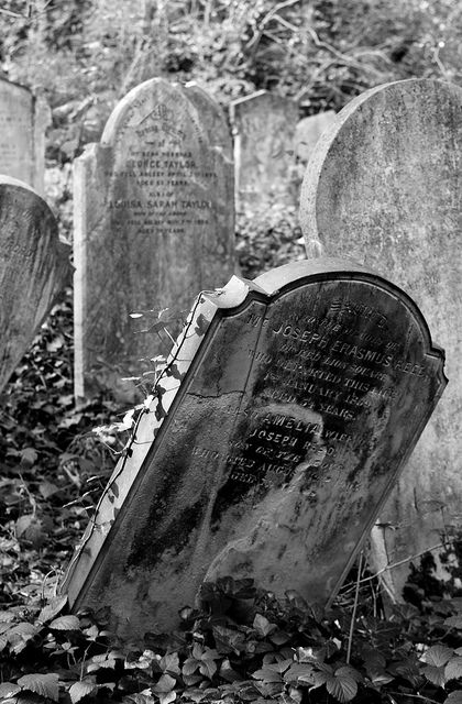 Gravestones 1 B by ijb_1979, via Flickr