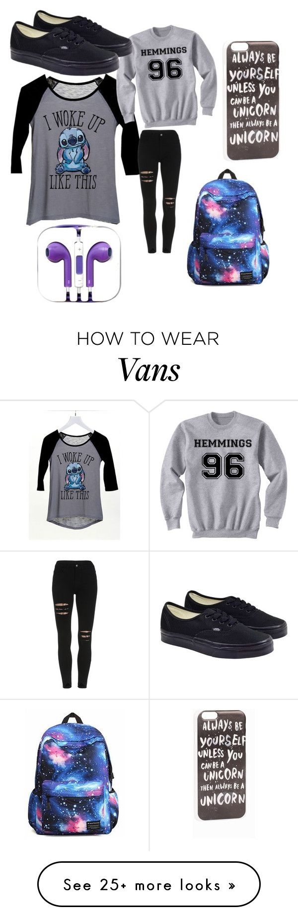 """""""School"""" by unicornspizza on Polyvore featuring JFR, dELiA*s and Vans"""
