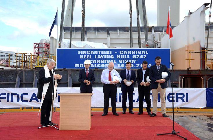 Fincantieri: iniziano i lavori per Carnival Vista. Sarà l'Ammiraglia di Carnival Cruise Lines