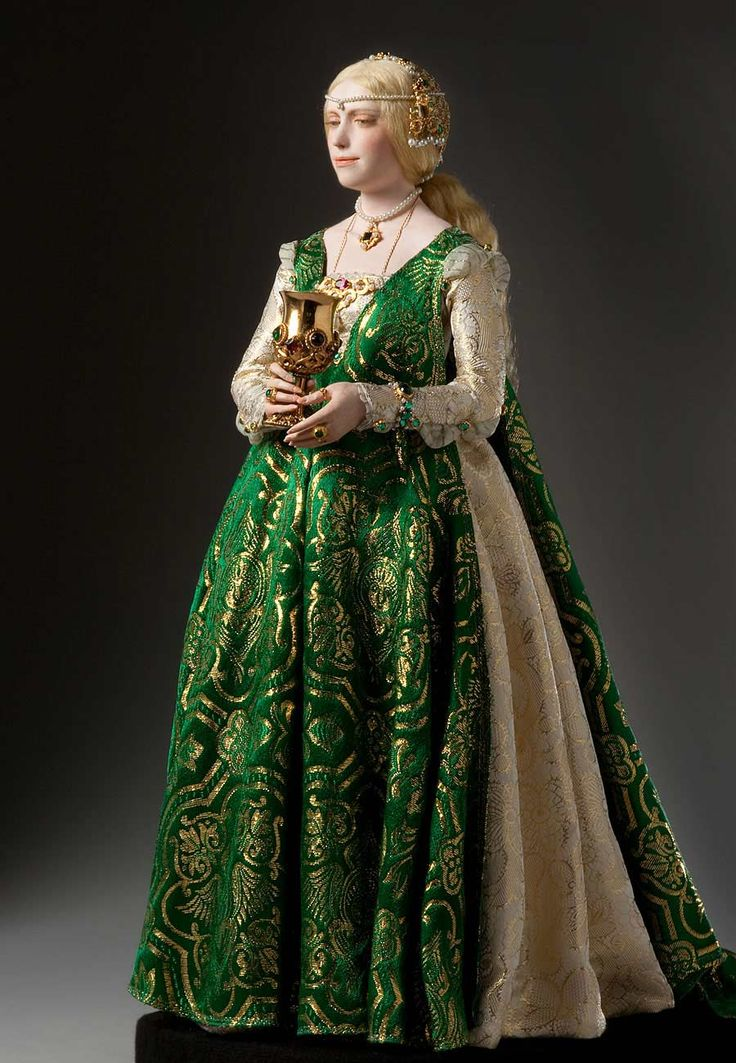 Lucrezia Borgia: Renaissance doll by George Stuart at the Museum of Ventura County. Description from pinterest.com. I searched for this on bing.com/images