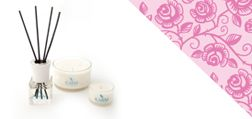 Scented Aromatherapy Candles from the Karm Amore Collection
