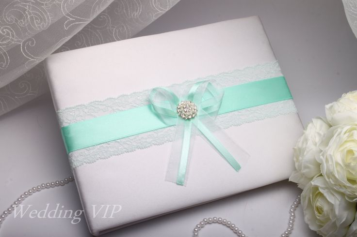 Wedding Book mint A5 -HAND-Painted- lace weddings mint Personalized Unusual Wedding ideas Guest book mint Sign book Wedding pen Wedding mint by VIZZARA on Etsy